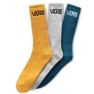 Vans Vans Classic Crew Sokken Geel Grijs Blauw