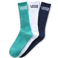 Vans Classic Crew Socks Blau Grün Weiß