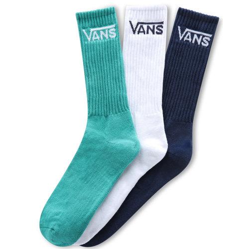 Vans Vans Classic Crew Socks Blue White Green
