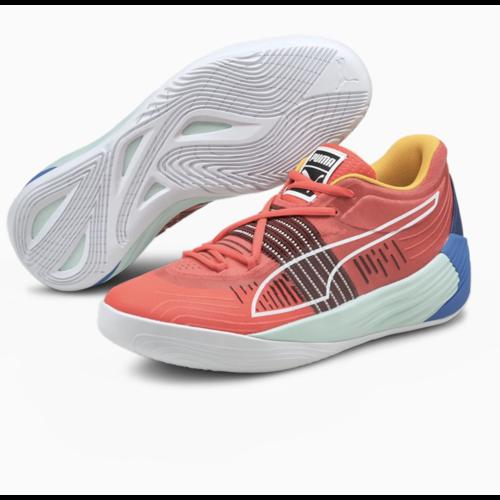 Puma Basketball Puma Fusion Nitro Spectra Rood Multicolor