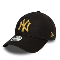 New Era New York Yankees MLB 9Forty Cap Zwart Brons