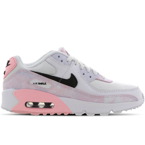 Nike Nike Air Max 90 Wit Roze GS