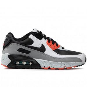 Nike Nike Air Max 90 LTR Grijs Zwart Oranje GS
