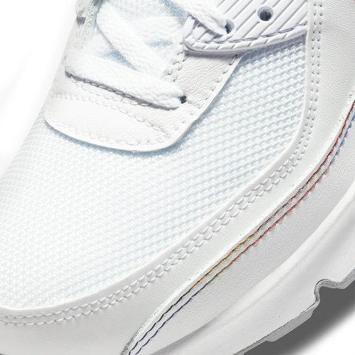 Nike Nike Air Max 90 Wit Groen Regenboog GS