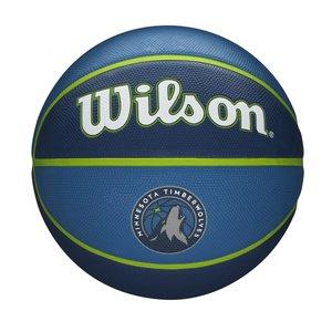 Wilson Ballon de basket Wilson NBA MINNESOTA TIMBERWOLVES Tribute (7)