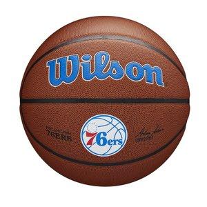 Wilson Wilson NBA PHILADELPHIA 76ERS Composite Indoor / Outdoor Basketbal (7)