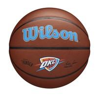 Wilson NBA OKLAHOMA CITY THUNDER Composite Indoor / Outdoor Basketbal (7)
