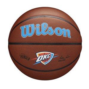 Wilson Wilson NBA OKLAHOMA CITY THUNDER Composite Indoor / Outdoor Basketbal (7)