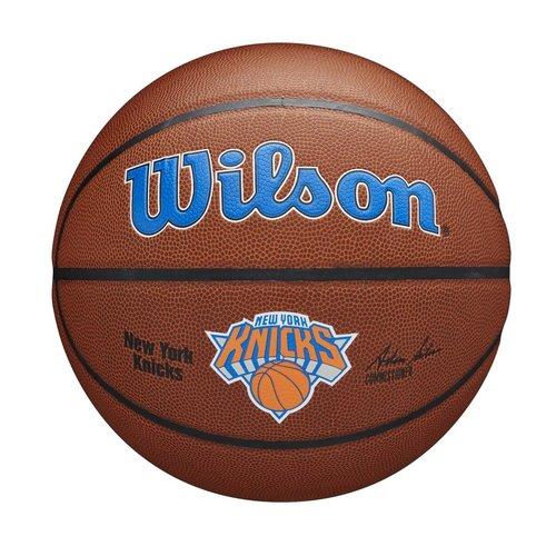 Wilson Wilson NBA NEW YORK KNICKS Composite Indoor / Outdoor Basketbal (7)