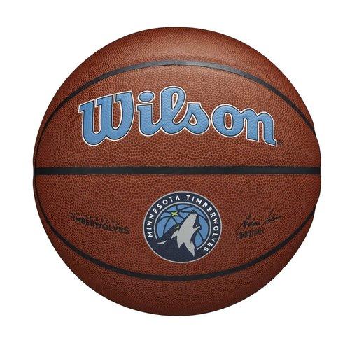 Wilson Wilson NBA MINNESOTA TIMBERWOLVES Composite Indoor / Outdoor Basketbal (7)