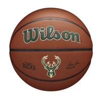 Wilson NBA MILWAUKEE BUCKS Composite Indoor / Outdoor Basketbal (7)