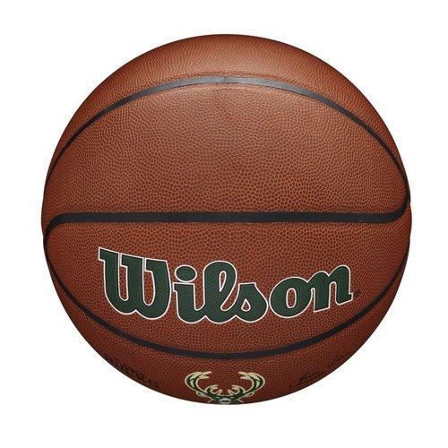 Wilson Wilson NBA MILWAUKEE BUCKS Composite Indoor / Outdoor Basketbal (7)