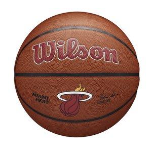 Wilson Wilson NBA MIAMI HEAT Composite Indoor / Outdoor Basketbal (7)