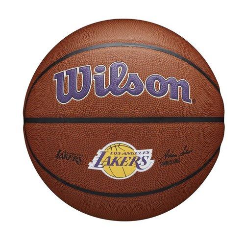 Wilson Wilson NBA LA LAKERS Composite Indoor / Outdoor Basketbal (7)