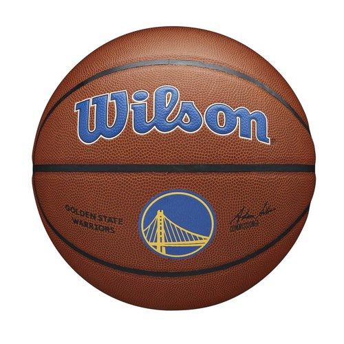Wilson Wilson NBA GOLDEN STATE WARRIORS Composite Indoor / Outdoor Basketbal (7)