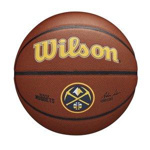 Wilson Wilson NBA DENVER NUGGETS Composite Indoor / Outdoor Basketbal (7)