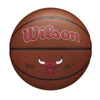 Wilson NBA CHICAGO BULLS Composite Indoor / Outdoor Basketbal (7)
