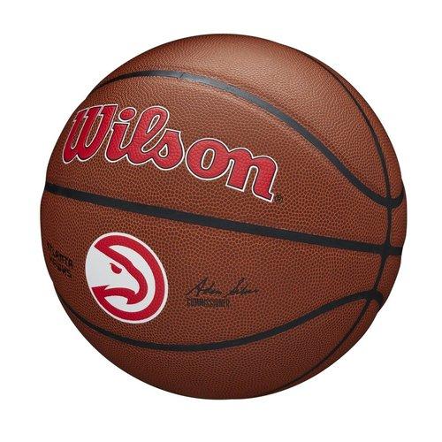 Wilson Wilson NBA Atlanta Hawks Composite Indoor / Outdoor Basketbal (7)