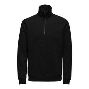 Only & Sons Only & Sons Sweatshirt met hoge hals Zwart