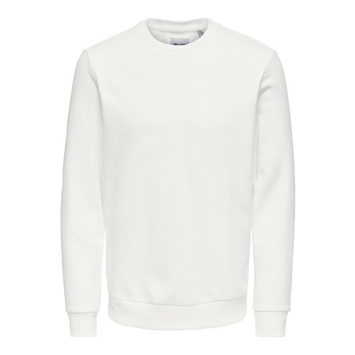 Only & Sons Only & Sons Crewneck Bright Wit