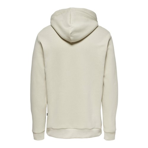 Only & Sons Only & Sons Hoodie Off White