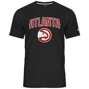 New Era New Era NBA Tee Atlanta Hawks Schwarz