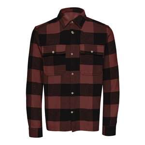 Only & Sons Only & Sons Check Flannel Overshirt Andorra