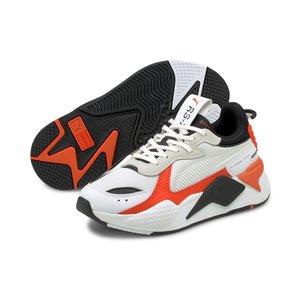 Puma RS-X Mix Jr Wit Oranje Zwart