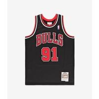 Mitchell & Ness Chicago Bulls Jersey Dennis Rodman Zwart