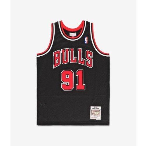 Mitchell & Ness Mitchell & Ness Chicago Bulls Jersey Dennis Rodman Schwarz