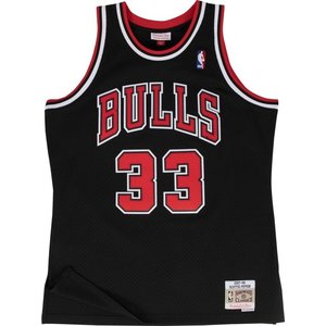 Mitchell & Ness Mitchell & Ness Jersey Bulls Scottie Pippen Schwarz