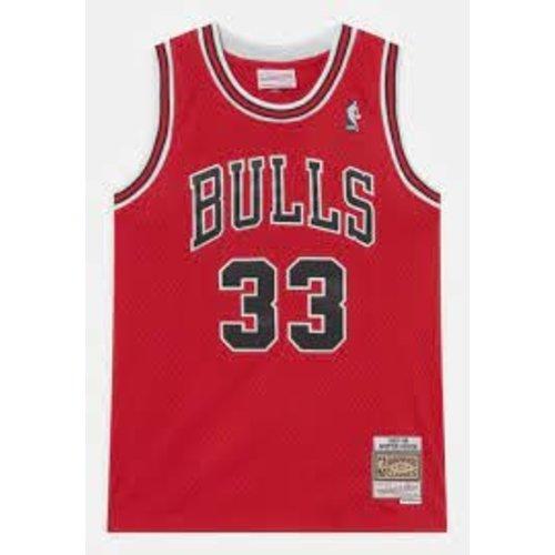Mitchell & Ness Mitchell & Ness Chicago Bulls Scottie Pippen Jersey Rot