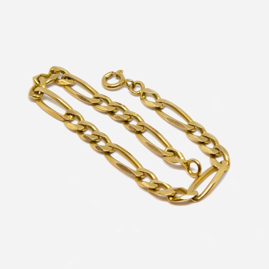 Armband Figaroschakel-5
