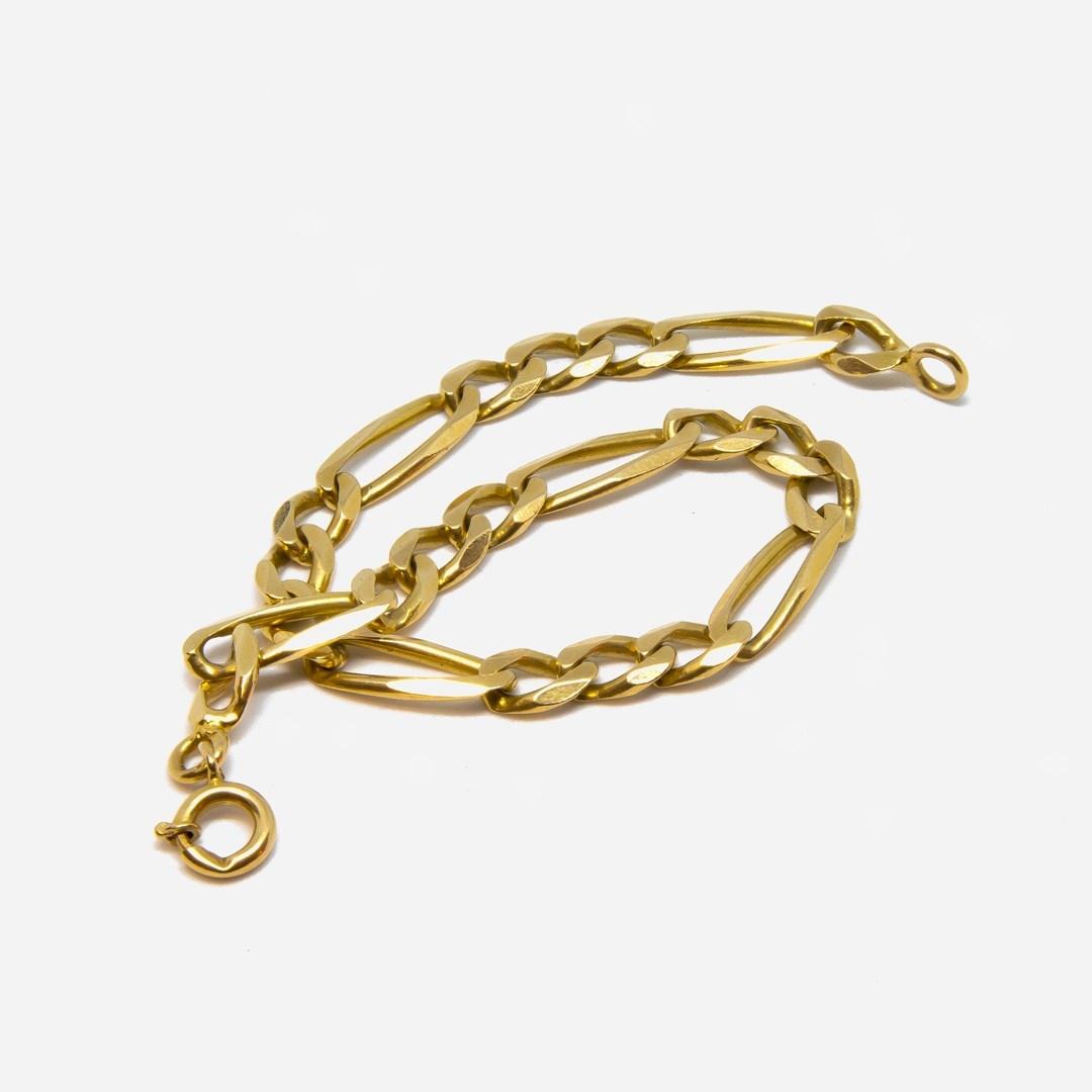 Armband Figaroschakel-6