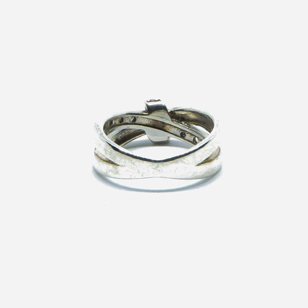 Ring met witte steentjes-2