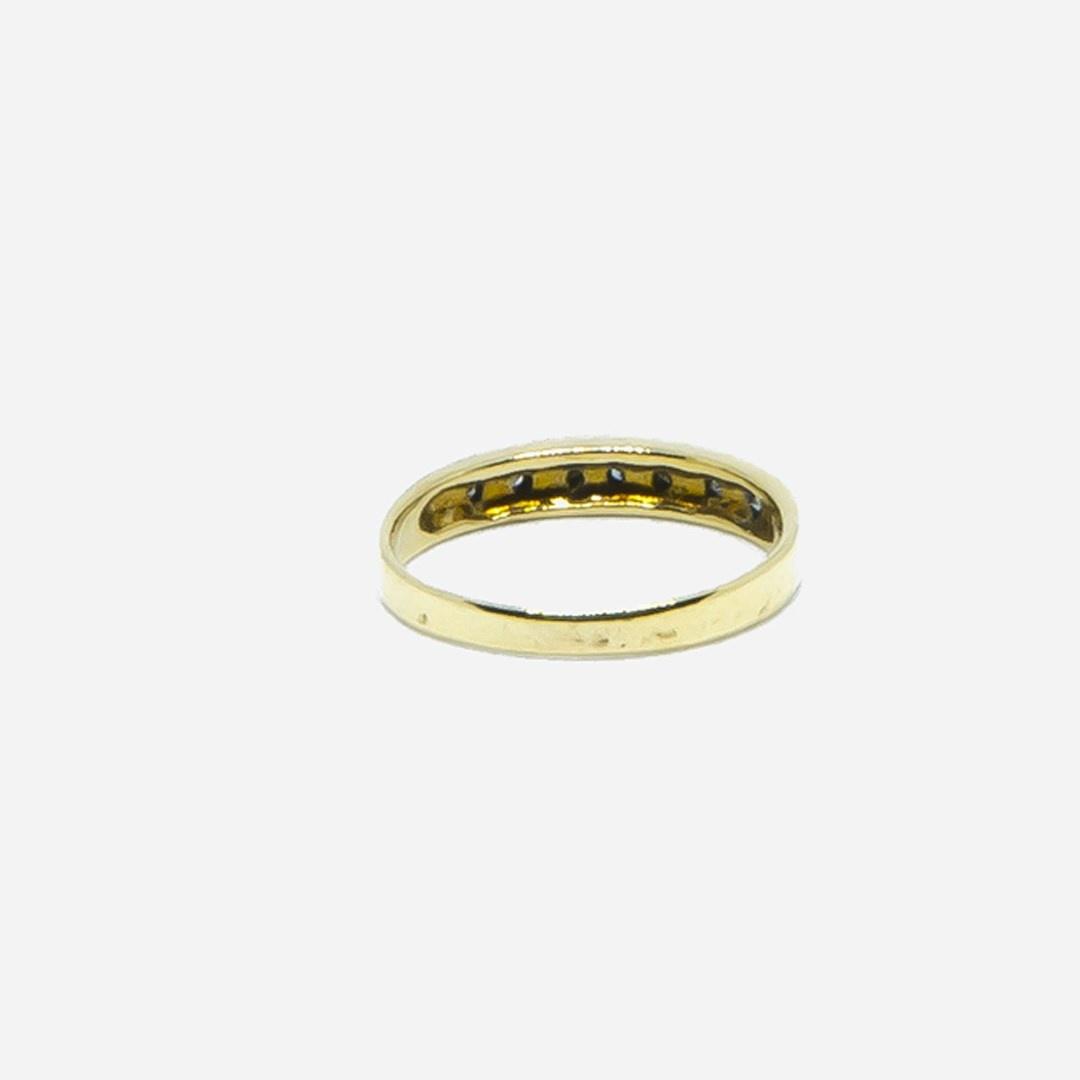 Ring met 7 diamantjes-2