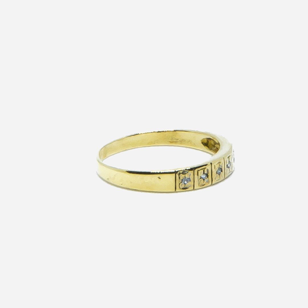 Ring met 7 diamantjes-3