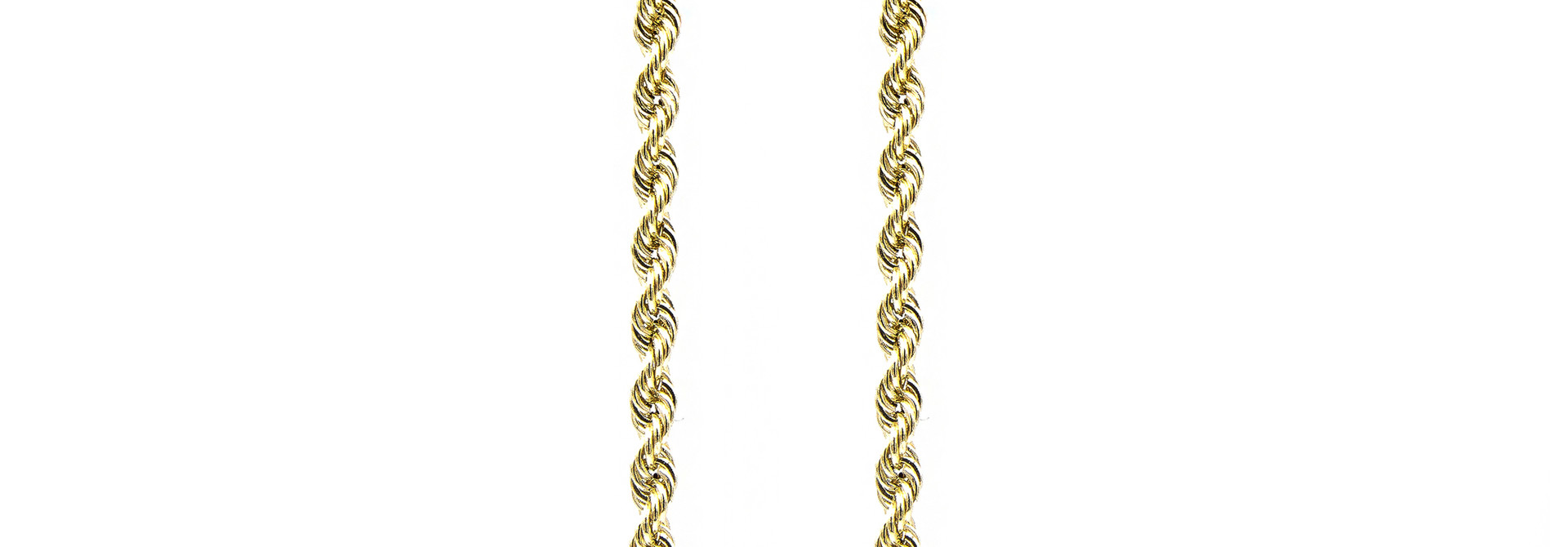 Rope Chain 14k - 4 mm
