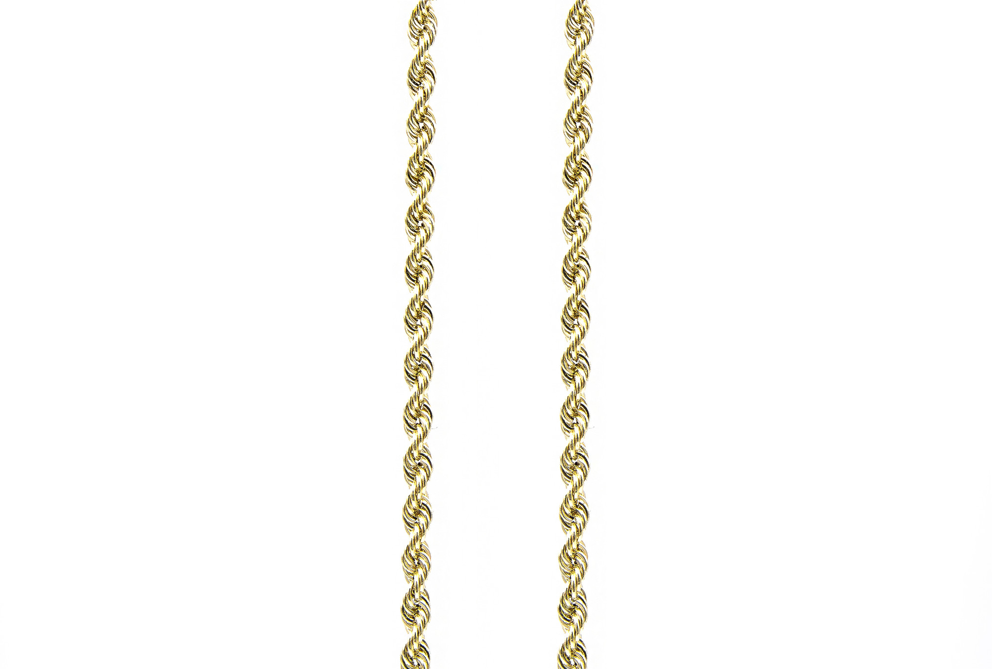 Rope Chain 14k - 4 mm-1