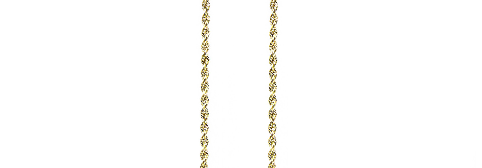 Rope Chain 14k-3mm