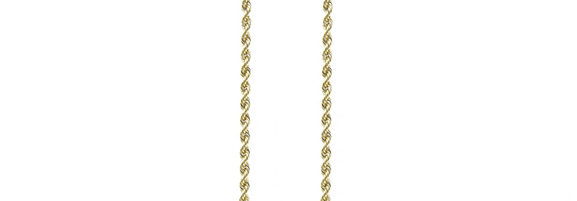 Rope Chain 18k