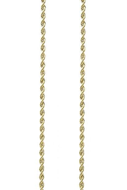 Rope chain Nederlands goud 2mm