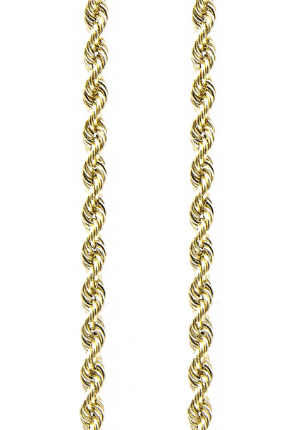 Rope Chain 14k-5 mm