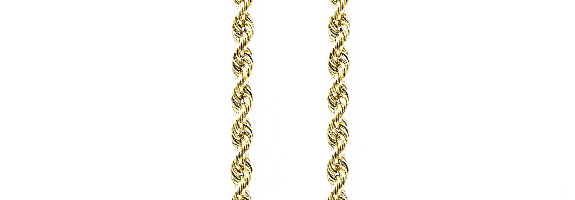 Rope Chain - 14k- 4,5 mm