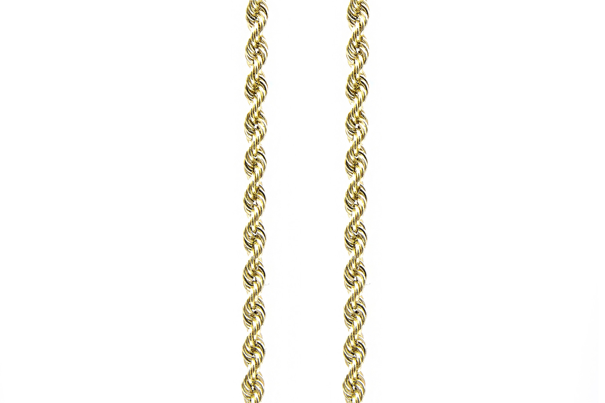 Rope Chain - 14k- 4,5 mm-1