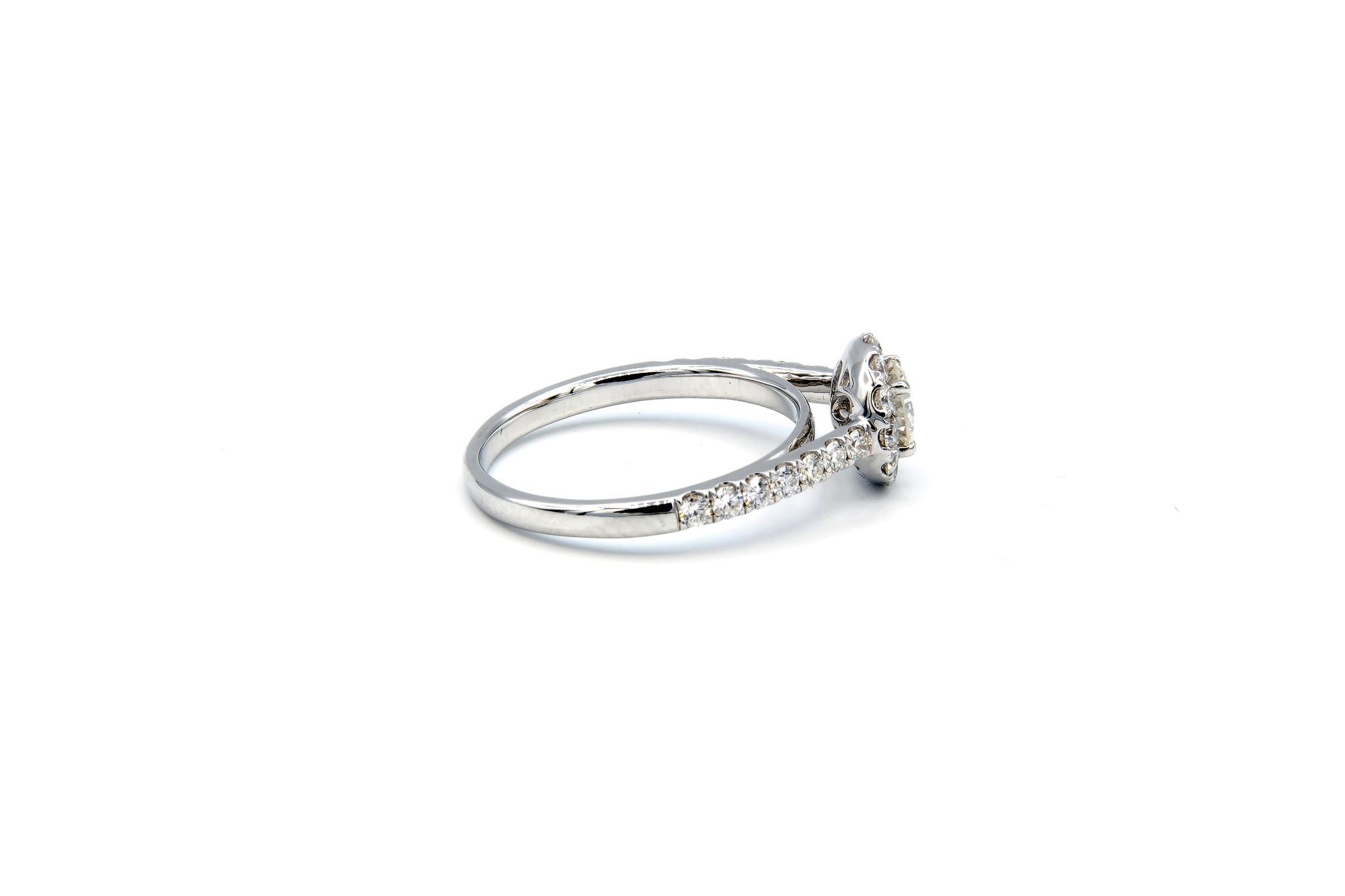 Ring verlovingsring witgoud met 0,5 ct SI en 0,59 ct VS diamant-4
