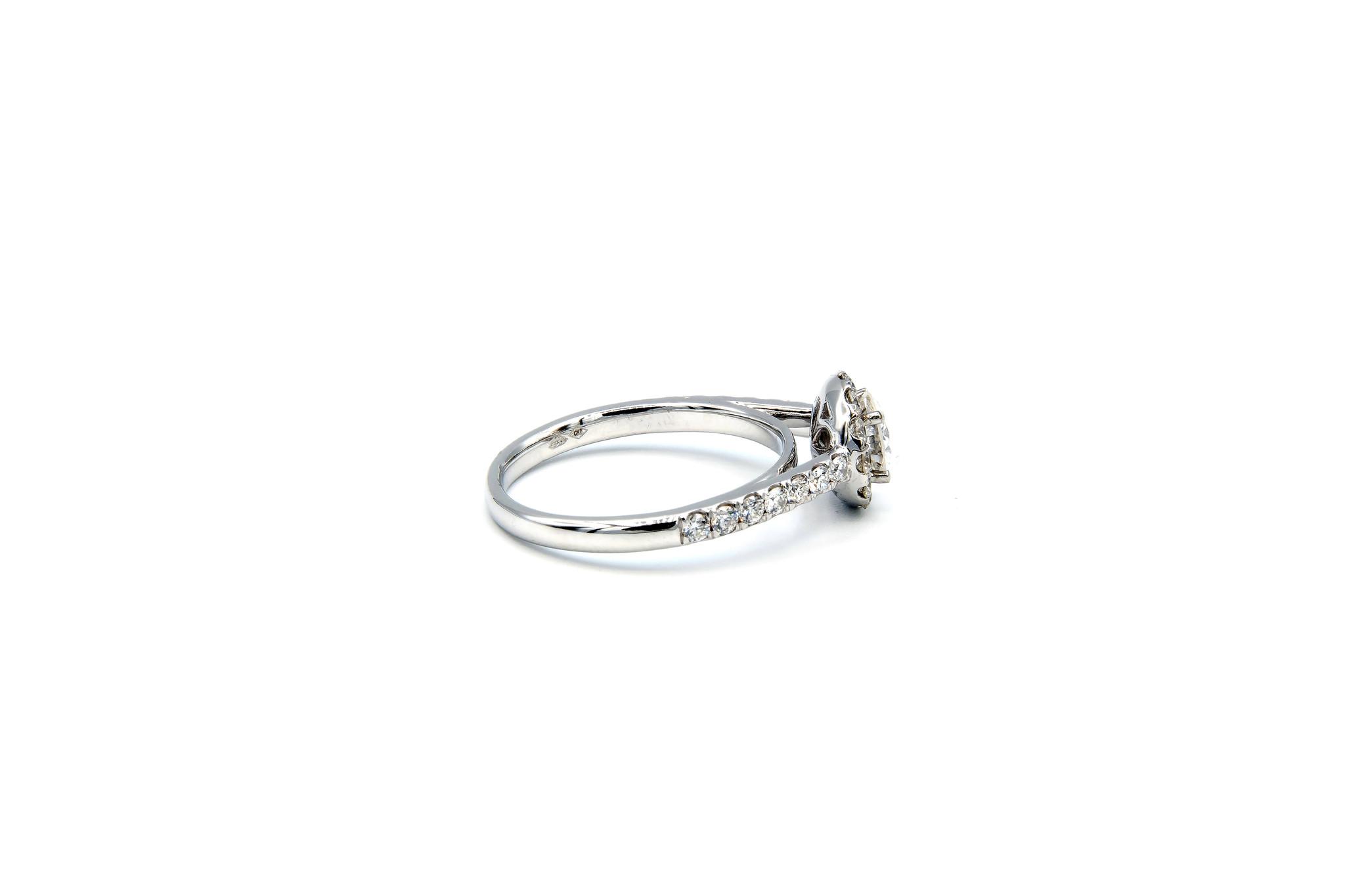 Ring verlovingsring witgoud met 0,5 ct SI en 0,59 ct VS diamant-3