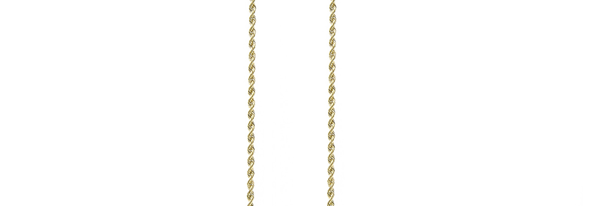 Rope Chain 14k-2 mm