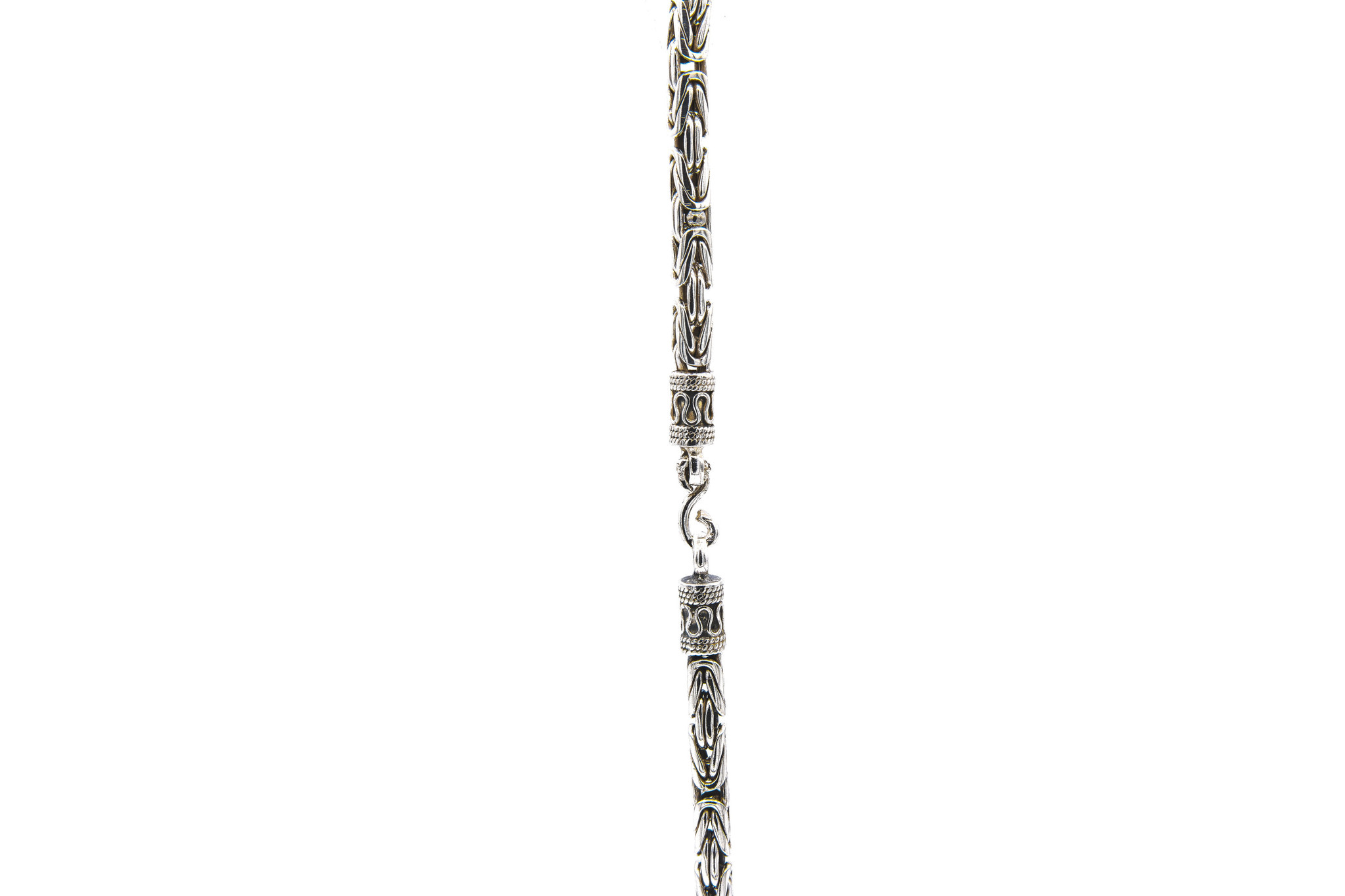 Ketting koningsschakel zilver-3