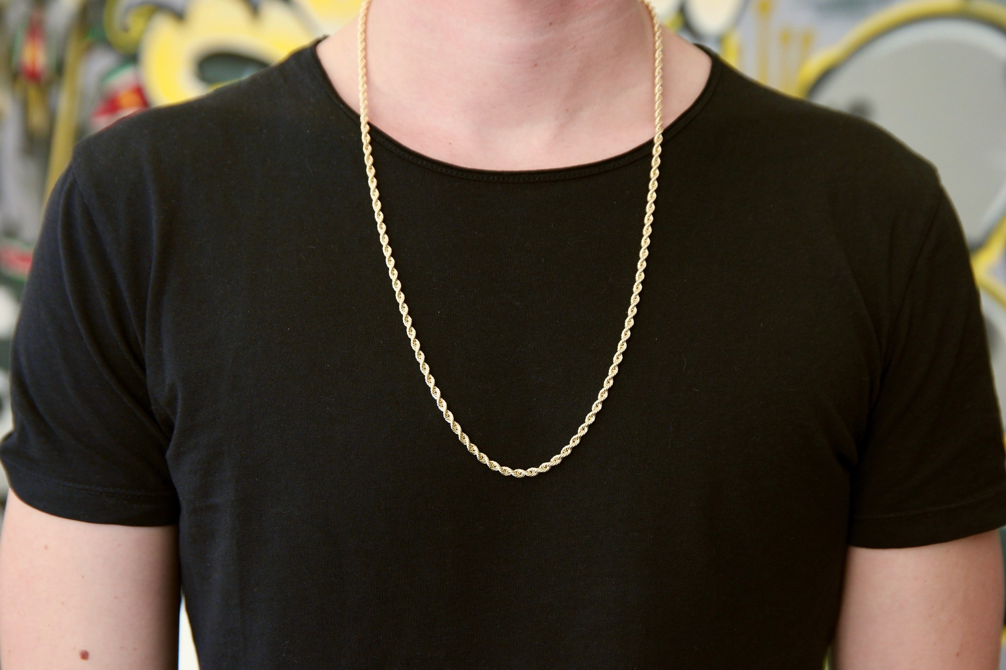 Rope Chain 14k - 3,5 mm-2
